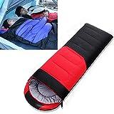 huihui Isomatte Outdoor-Camping-Schlafsack Splicing Indoor Cotton Schlafsofa, Größe: 210x80cm Gewicht: 1,6 kg (Color : Red)