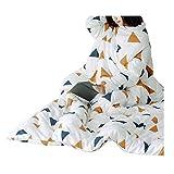ZHAO YELONG Einfache Freizeit Multifunktions Winter Verdicken Weich Halten Warme Decke Quilt Schlafsofa (Farbe : Weiß, größe : 180×200cm)