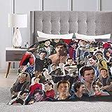 Yaxinduobao Tom Holland Decke Wurfdecke Verschleißfeste Decken Einer Decke Weiche Dekoration Komfortable Decke Geeignet für Erwachsene Eltern und Kinder Schlafsofa 60 'X50