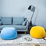 Unbekannt Sitzsack faul Sofa Multifunktions Totoro Tasche Kinder Couch Schlafzimmer Balkon Single Tatami Schlafsofa-dunkelblau A6