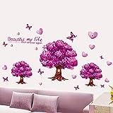 Lila Schlafsofa Hintergrund Dekoration Schlafzimmer Wand