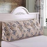 YOTA HOME Bedside Rückenlehne Dreieck Kissen Doppelbett Schlafsofa Bettlehne Bett Rückenlehne Großer Schlafanzug Relaxable (Farbe : A6, größe : 180 * 50 * 25cm)