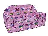 MuseHouse Kinder-Schlafsofa Kindersofa Kindermöbel Komfort mit Stil (S207)