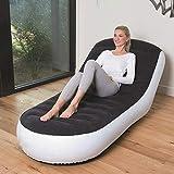 Klappbares Aufblasbares Sofa für zu Hause, Faules Schlafsofa, Aufblasbares Einzelschlafsofa, Freizeitstuhl