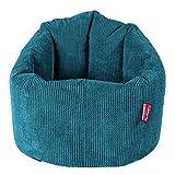 Lounge Pug®, Sitzsack Kuschel Lounge Sessel, Schlafsofa, Pom-Pom Türkis
